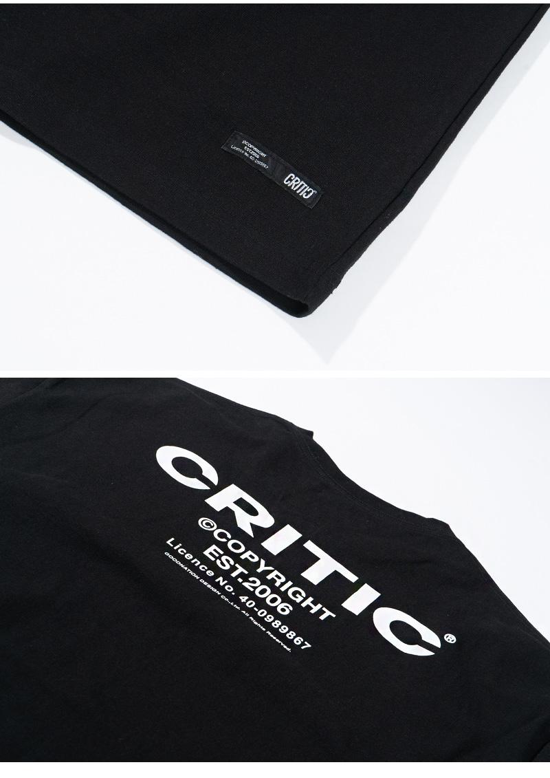 BACKSIDE LOGO T-SHIRT(BLACK)_CTTZURS11UC6