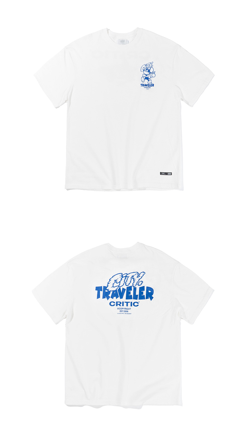 COUNTRY MOUSE T-SHIRT(WHITE)_CTTZURS14UC2