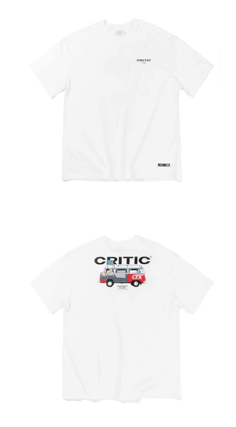 CHICKEN KILLER BUS T-SHIRT(WHITE)_CTTZURS21UC2
