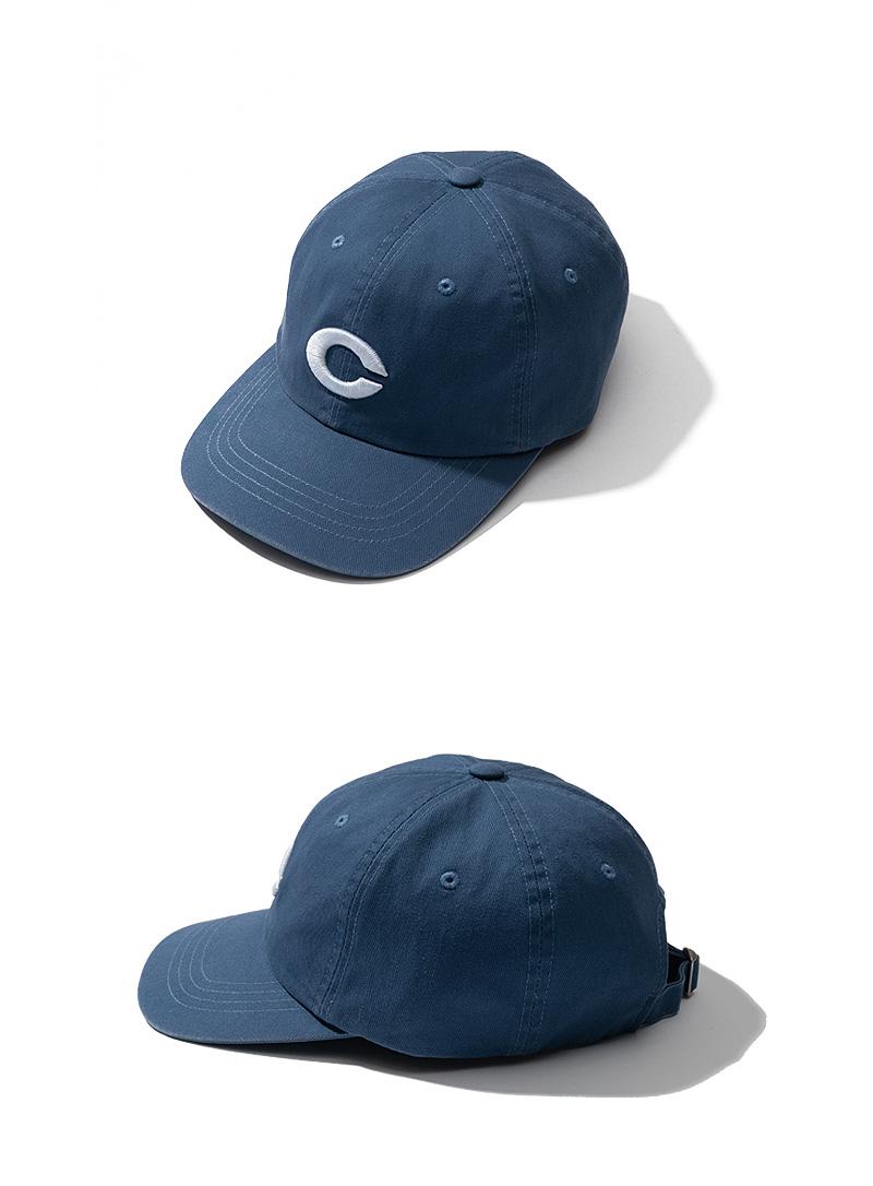 C LOGO SNAPBACK(BLUE)_CTTZUHW03UB2