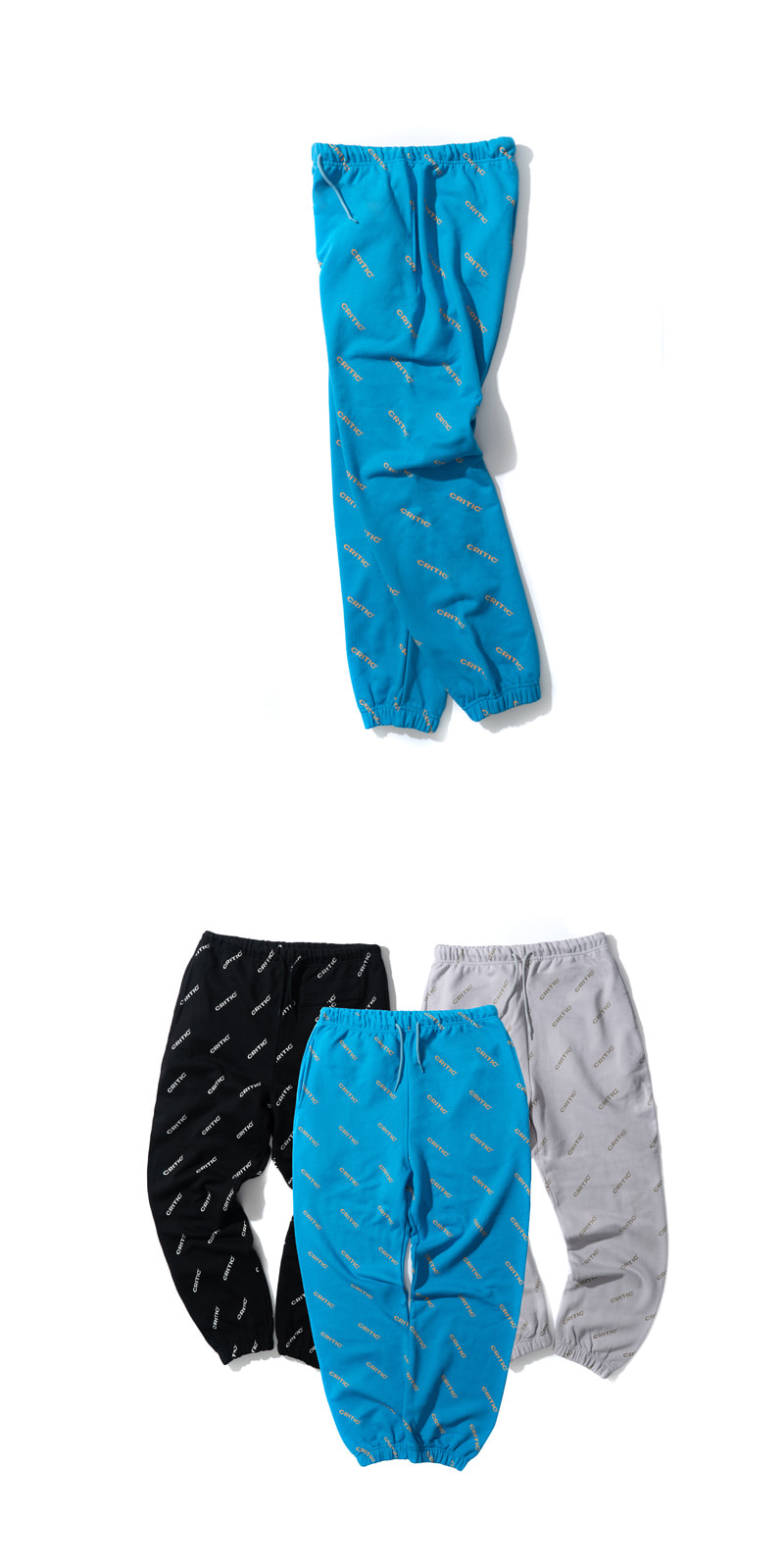 FULL PATTERN LOGO PANTS(SKY BLUE)_CTTZUPT02UB0