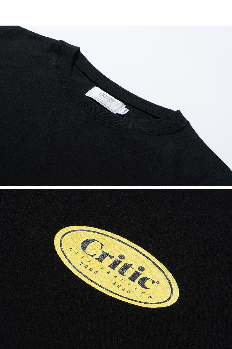 ELLIPSE LOGO T-SHIRT(BLACK)_CTTZURS01UC6