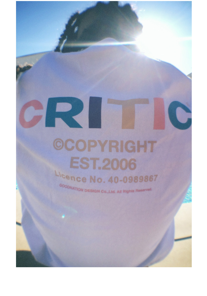 COLORIZE BACKSIDE LOGO T-SHIRT(BLACK)_CTTZURS10UC6