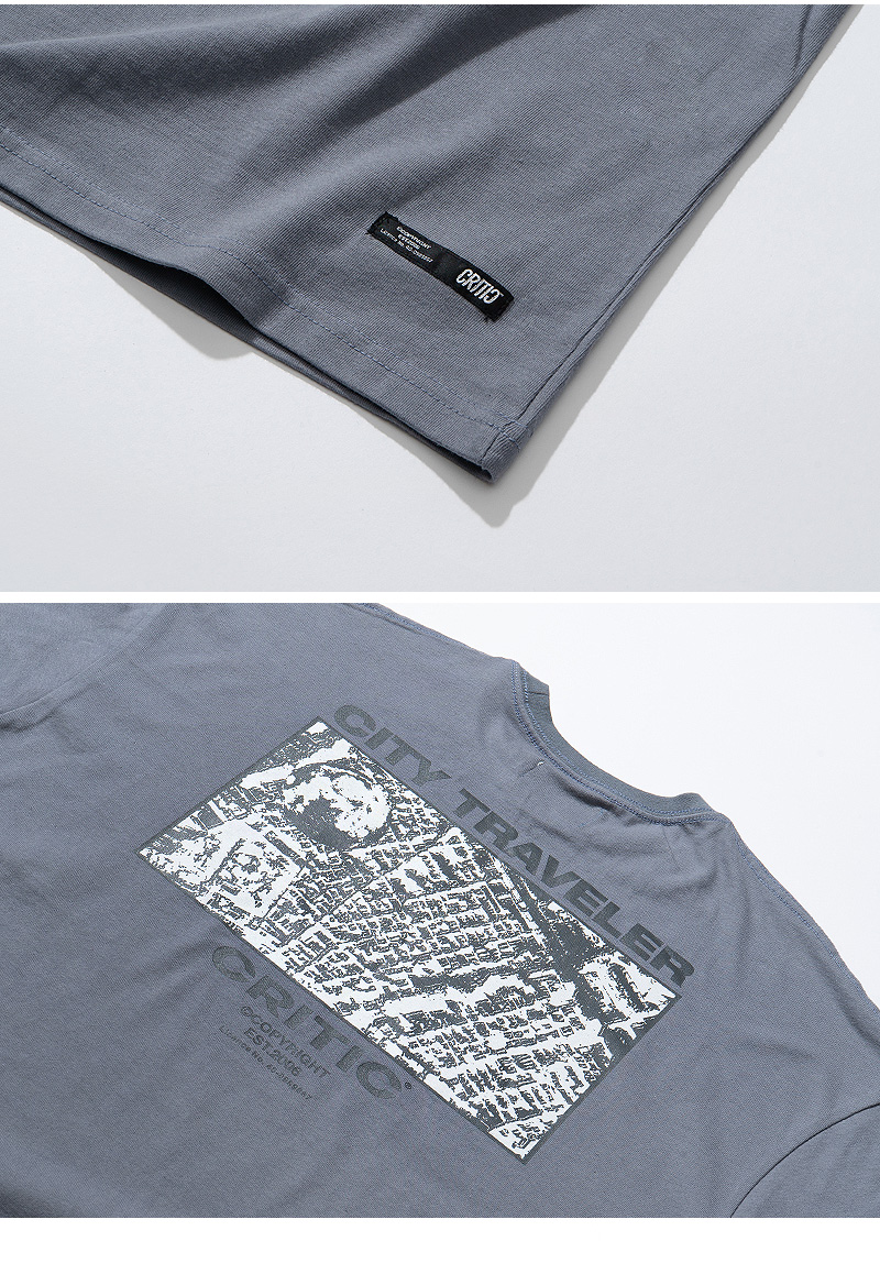 MAP GRAPHIC T-SHIRT(BLUE GREEN)_CTTZURS20UB7