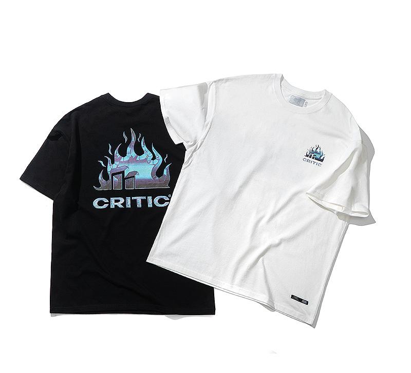 FIRE GRAPHIC T-SHIRT(WHITE)_CTTZURS28UC2