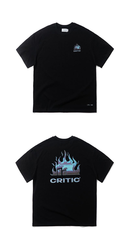 FIRE GRAPHIC T-SHIRT(BLACK)_CTTZURS28UC6