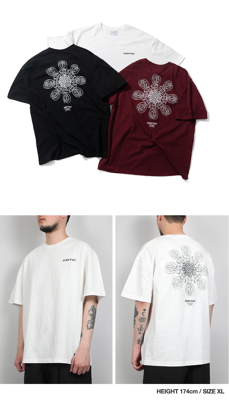 ICE CRYSTAL LOGO T-SHIRT(WHITE)_CTTZURS07UC2