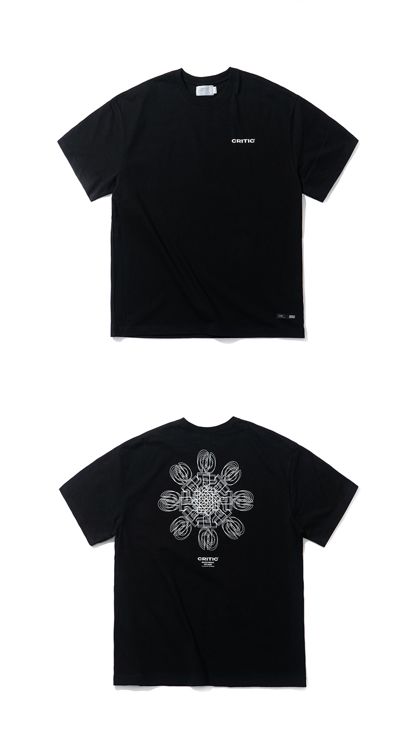 ICE CRYSTAL LOGO T-SHIRT(BLACK)_CTTZURS07UC6