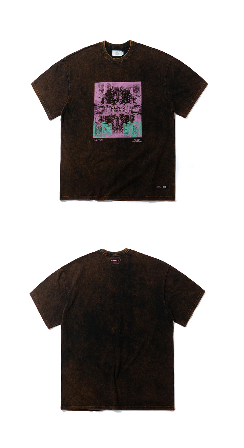 TV SNOW T-SHIRT(BLACK)_CTTZURS24UC6