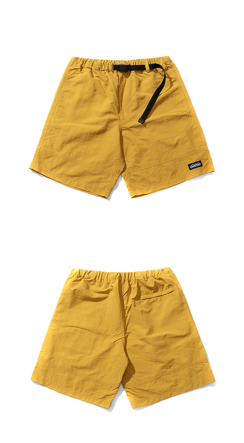CUTTED SHORTS(LEMON YELLOW)_CTTZUSP06UY2