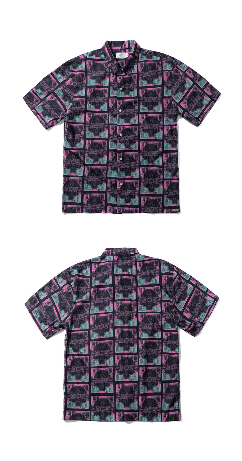 TV GRAPHIC SHIRT(BLACK)_CTTZUSS02UC6