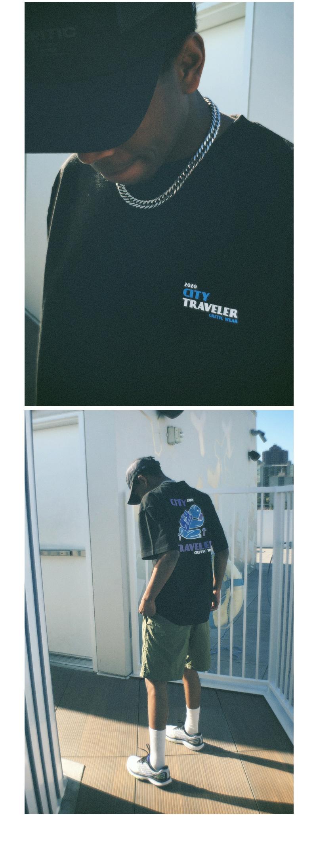 FROG CITY TRAVELER T-SHIRT(BLACK)_CTTZURS02UC6