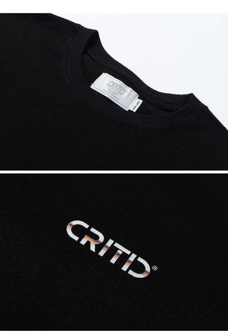 METALIC LOGO T-SHIRT(BLACK)_CTTZURS17UC6