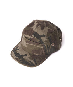 POSSE NATION 5PANEL CAMP CAP (WOODLAND CAMO)