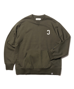 MFG REVERSE C POCKET SWEAT SHIRT(KHAKI)_CMOEACR34UG4