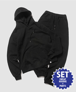 MFG STANDARD SWEAT SET(BLACK)_CMOEIST32UC6