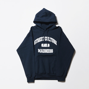STREET CULTURE MADNESS HOODY NAVY