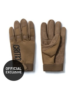 NOISE LOGO TACTICAL GLOVE(BROWN)_CTOGIAC03UE2