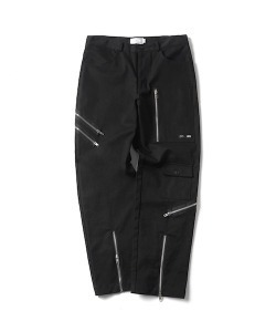 MULTI ZIP BONDAGE PANTS(BLACK)_CTONPPT08UC6