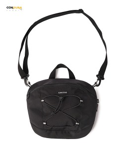 CORDURA® CROSS BAG(BLACK)_CTONUBG01UC6
