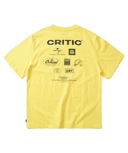 [4/22 예약 배송] DISTRIBUTOR LOGO T-SHIRT(LEMON YELLOW)_CTONURS12UY1