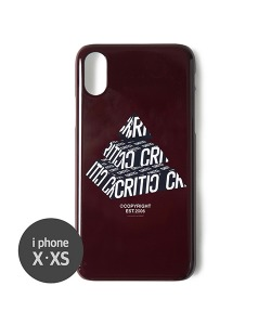PM LOGO MOBILE CASE(BURGUNDY)_CTONUHC02UP3
