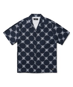 MAUI X CRITIC DIAMOND SHIRT(NAVY)_CSONUSS02UN0