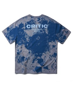 [8/22 예약 배송] BACKSIDE LOGO T-SHIRT(DEEP BLUE)_CTONURS26UB6
