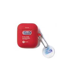 CRITIC LOVE SEX AIRPODS CASE(RED)_CTONUAC05UR0