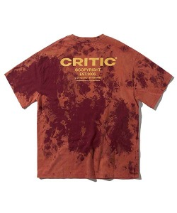 BACKSIDE LOGO T-SHIRT(BURGUNDY)_CTONURS26UP3
