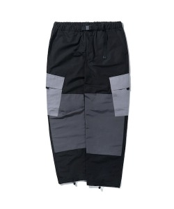 COLOR BLOCK CARGO PANTS(GRAY)_CTONAPT02UC0