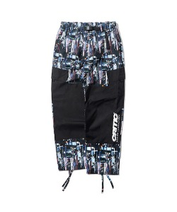 GRAPHIC UTILITY PANTS(BLACK)_CTONAPT07UC6