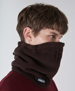 FLEECE NECK WARMER(BROWN)_CTONIAC01UE2