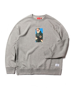 CHICKEN KILLER BOX SWEAT SHIRT(GRAY)_CTOEACR01UC4