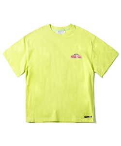 PIZZA BOY CHICKEN KILLER T-SHIRT(NEON GREEN)_CTONURS01UNG
