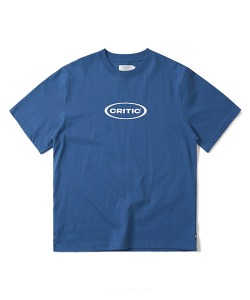 [4/22 예약 배송] OVAL LOGO T-SHIRT(DARK BLUE)_CTONURS14UB5