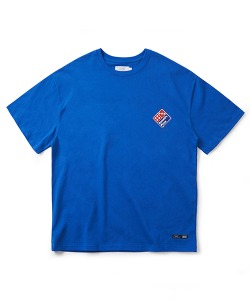 PIZZA BOY PSYCHO BUTCHER T-SHIRT(ROYAL BLUE)_CTONURS02UB3