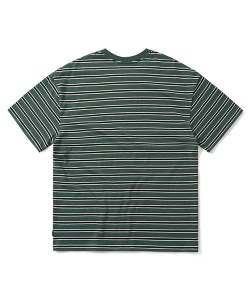 STRIPE T-SHIRT(DEEP GREEN)_CTONURS17UG1