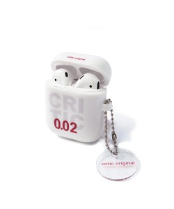 CRITIC 002 AIRPODS CASE(WHITE)_CTONUAC06UC2