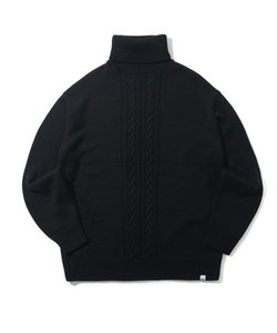 CRT HIGH NECK KNIT(BLACK)_CRONINT02UC6