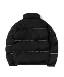 Reflective Piping Padding Puffer(BLACK)_CSONIDJ02UC6