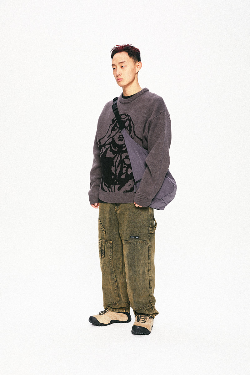 SCOUTS BOY KNIT(CHARCOAL)_CTTOPKT02UC1