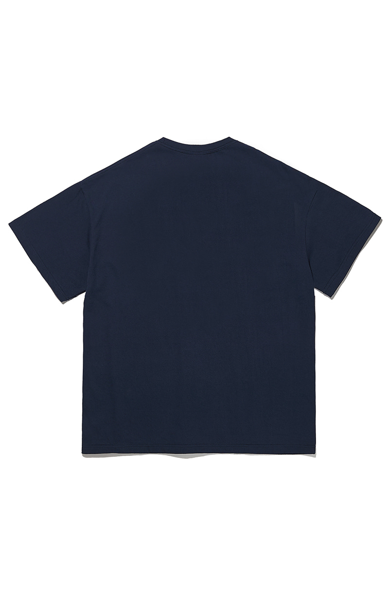 크리틱(CRITIC) [EXCLUSIVE] FOREST WARS 반팔 티셔츠 Navy